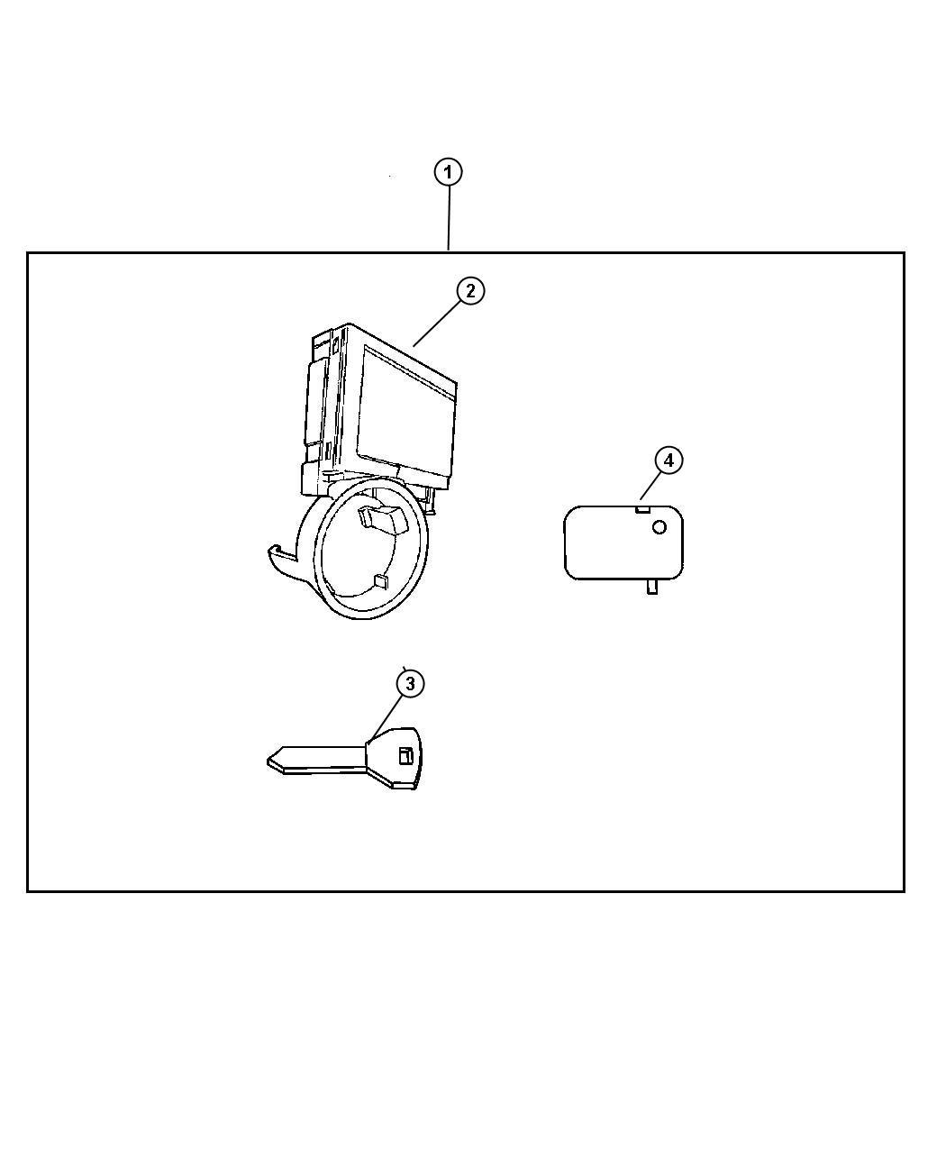 Dodge Ram Module Immobilizer Skim