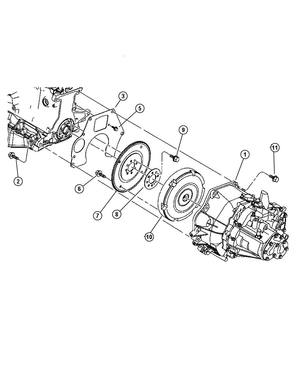 Dodge Neon Transaxle. With stamp # [05273250ac