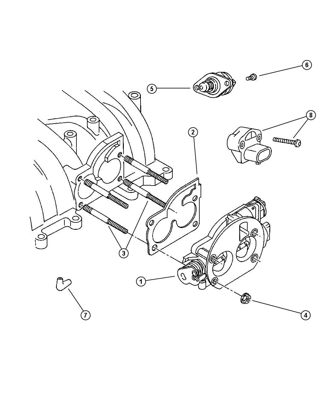 Jeep Wrangler Connector Emission Hose Formed