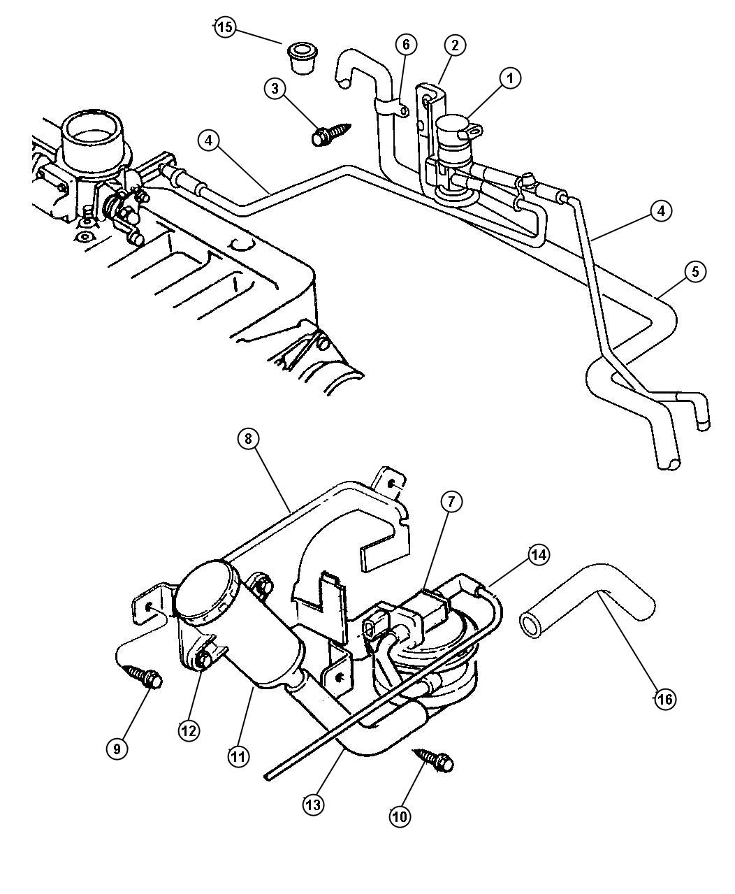 Jeep Grand Cherokee Screw. Tapping. 19-16x.375. 190-16x
