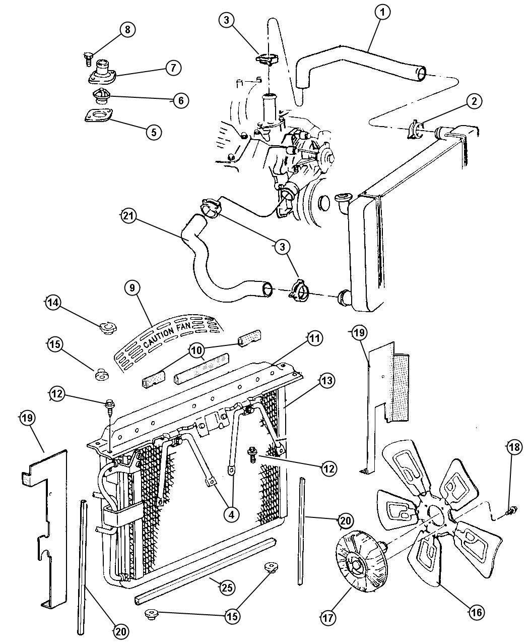 [DIAGRAM] Assembly Diagram Of Engine Cooling Fan Module