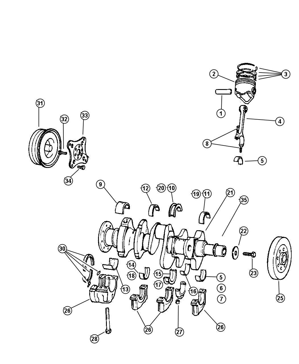 Jeep Compass Screw. Hex head header point. 312-24x.44