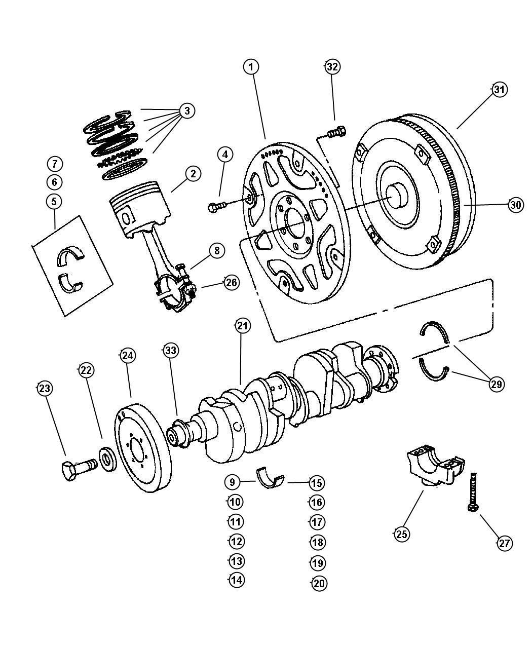 Service manual [1996 Jeep Grand Cherokee Torque Converter