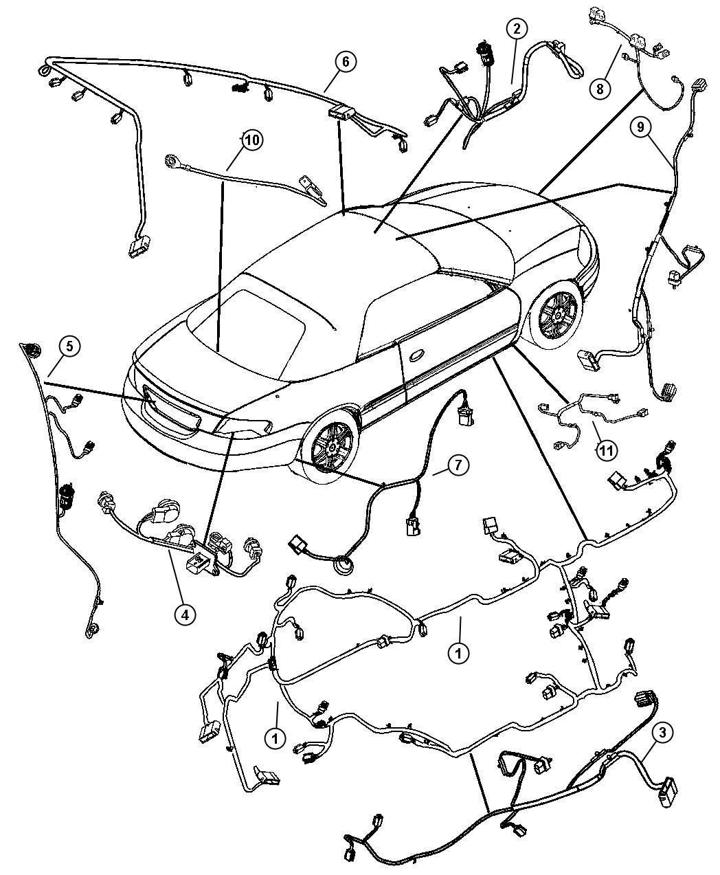 Chrysler Sebring Wiring Heated Seat Export