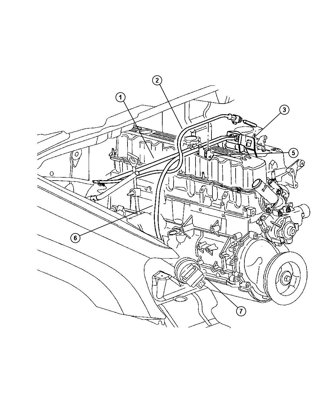 Jeep Grand Cherokee Clip. Locking. Accelerator cable