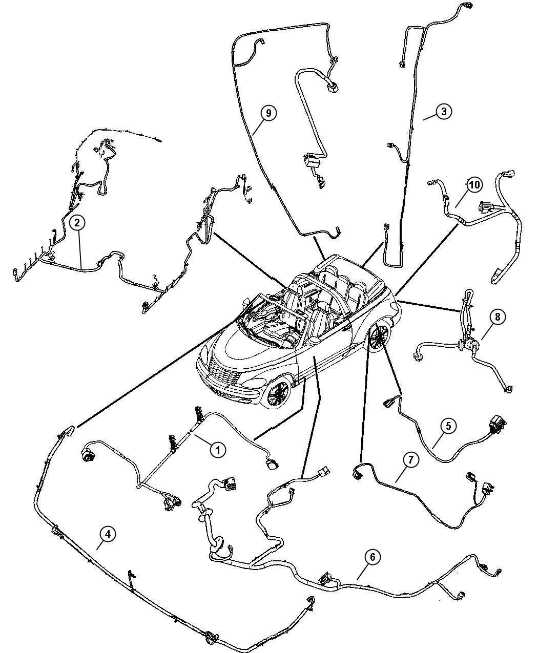 Chrysler Pt Cruiser Wiring Deck Lid