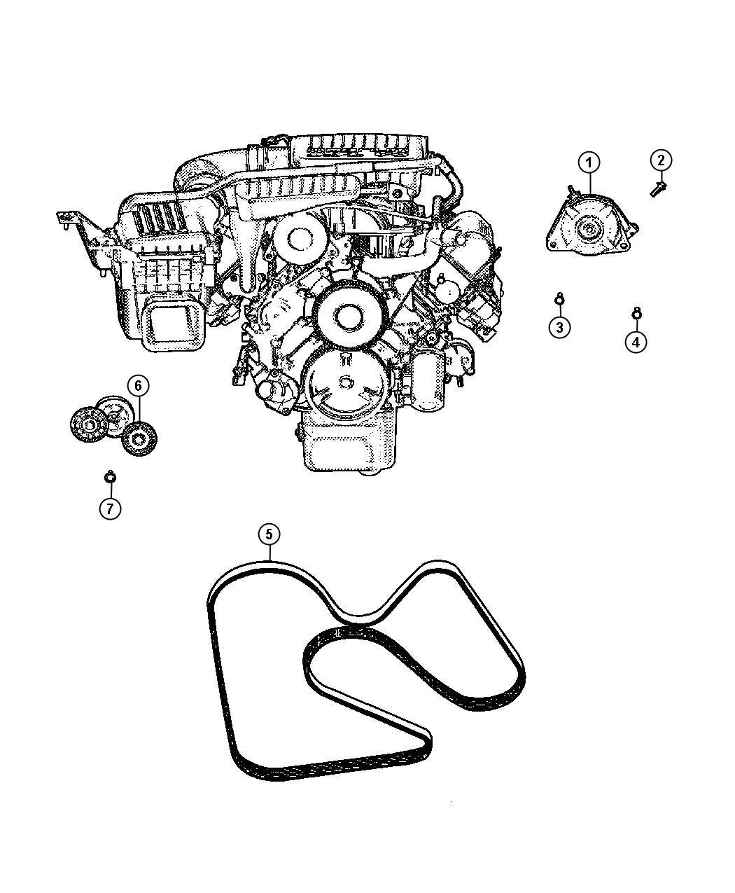 Dodge Dakota Generator. Remanufactured. Engine