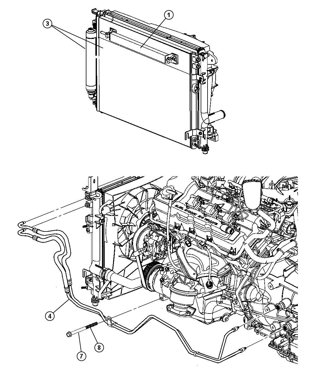 Service manual [Transmission Cooler Line 2011 Dodge