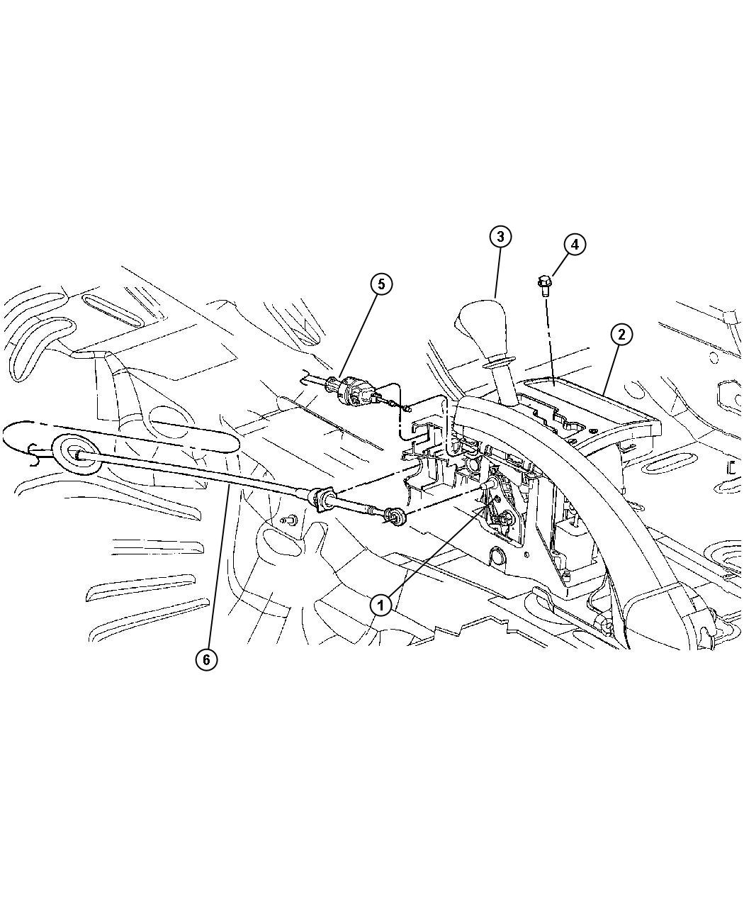 Jeep Grand Cherokee Prndl bezel. Gear selector