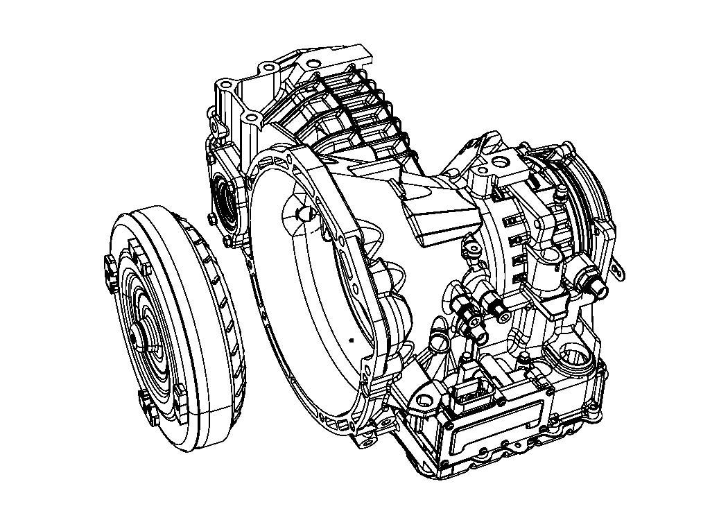 2008 Dodge Caliber SXT Automatic Transmission / Transaxle
