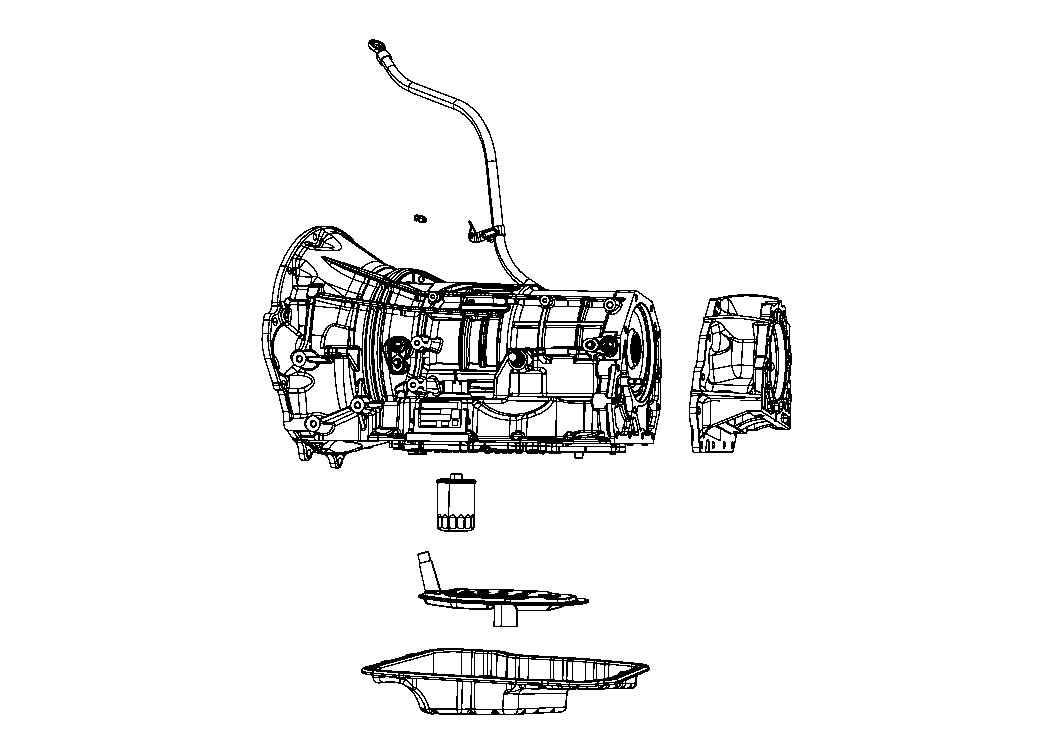 Jeep Grand Cherokee Bolt. Hex flange head. M8x1.25x215