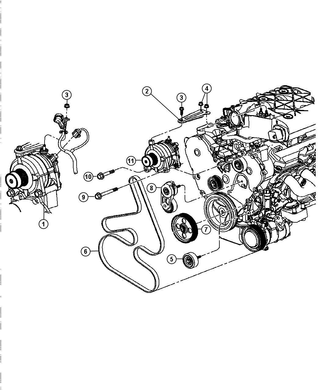Chrysler Alternator Wiring
