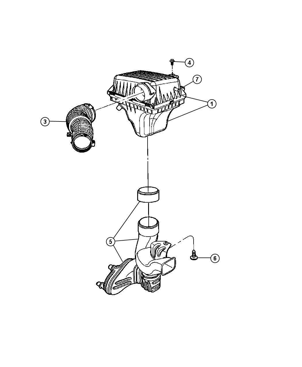 Dodge Magnum Screw. Hex head. Headlamp module, headlamp