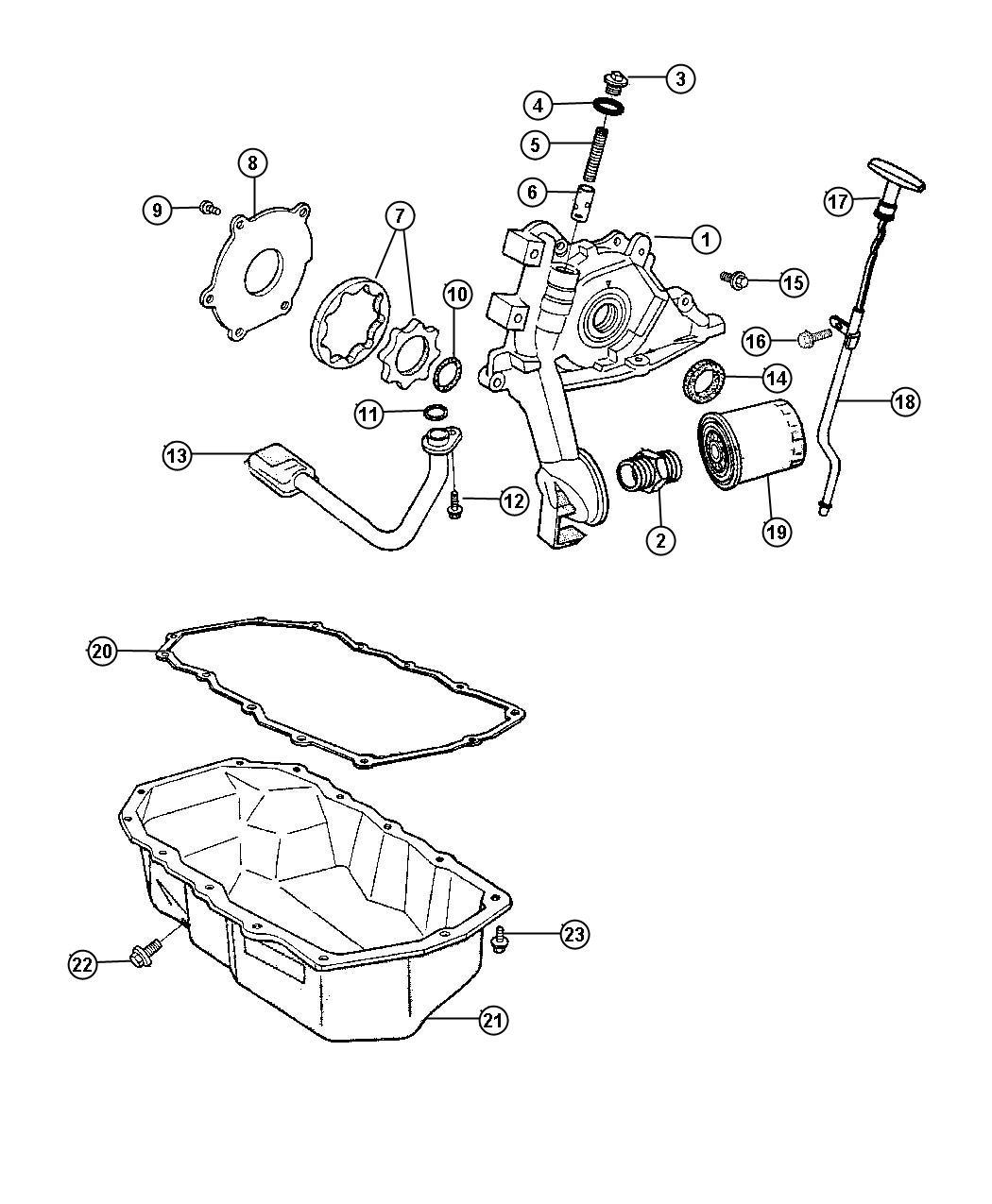 Dodge Stratus Tube Engine Oil Indicator Iiileaded