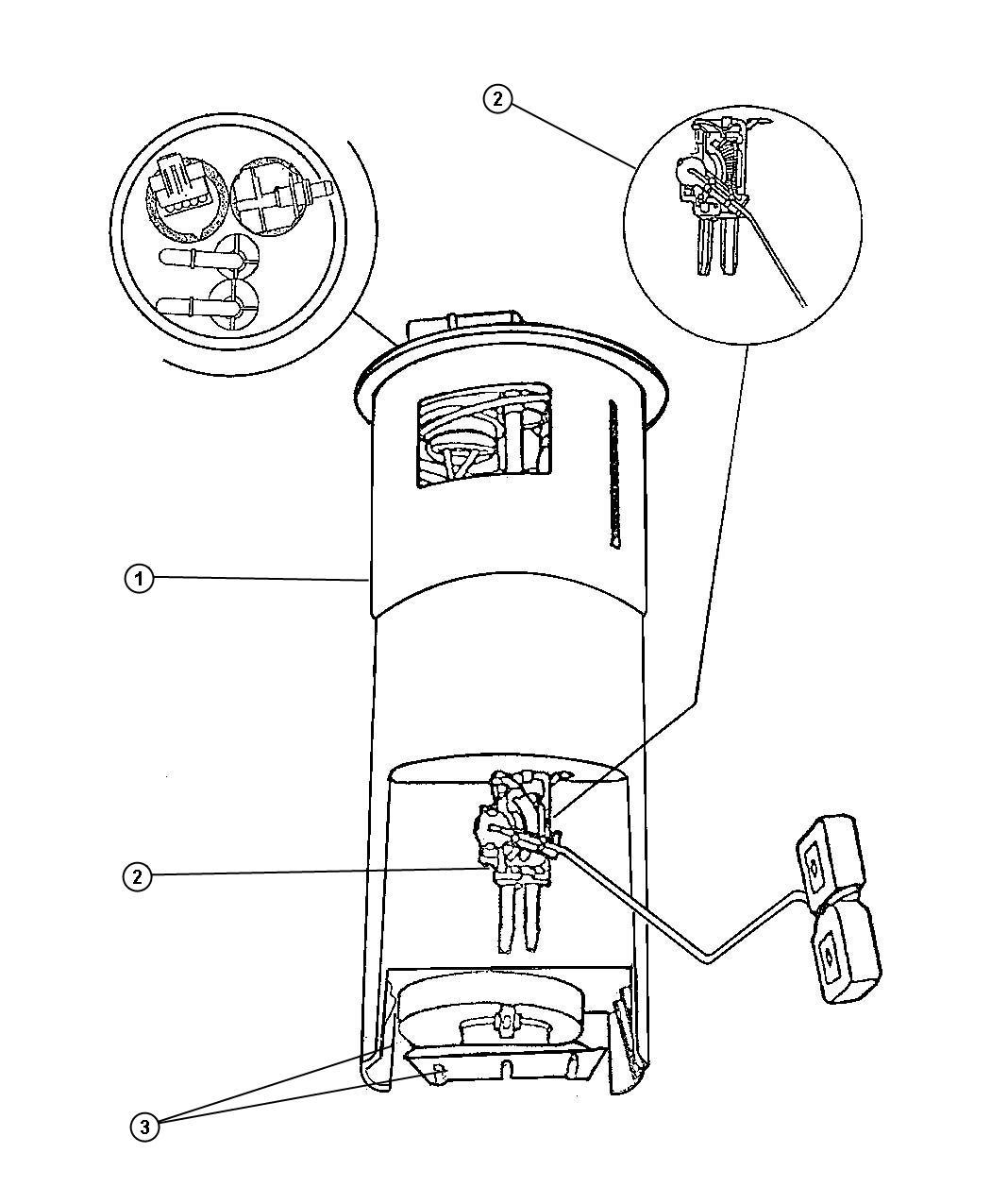Plymouth Prowler 3 5l V6 Regulator Kit Fuel Pressure
