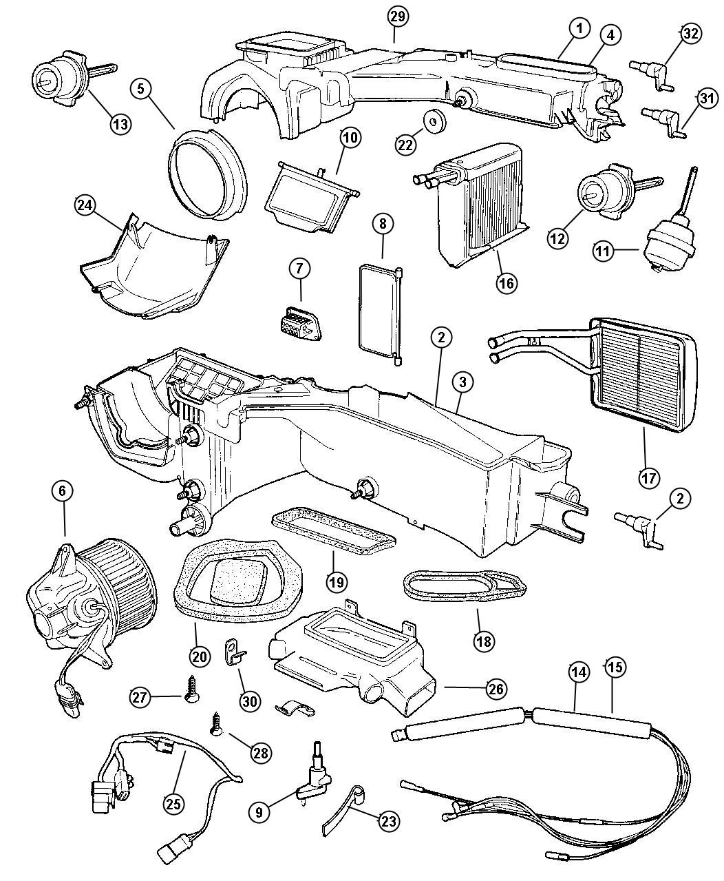 Jeep Wrangler Wiring Air Conditioning Module