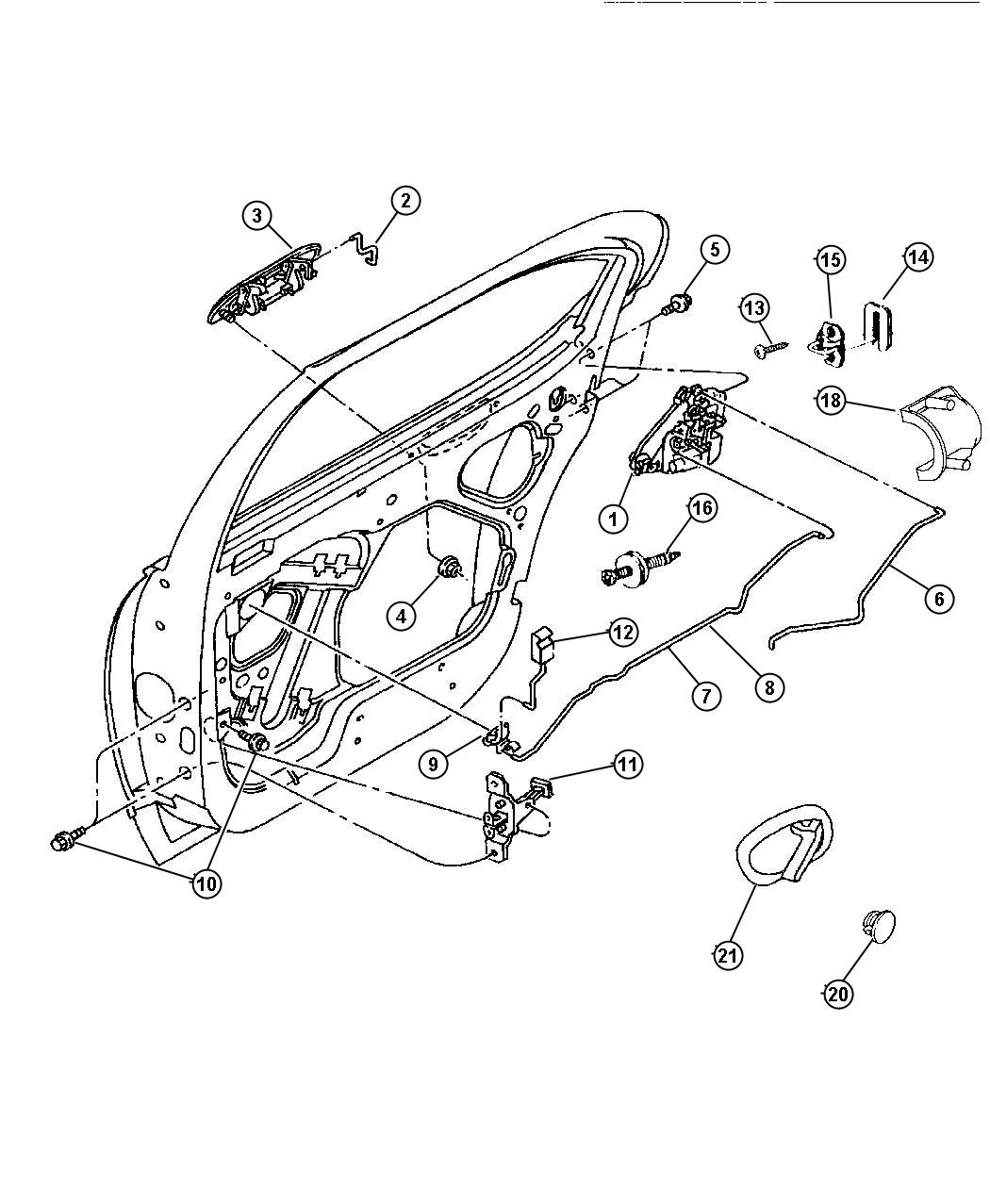 Service manual [How To Fix 1998 Plymouth Breeze Trunk