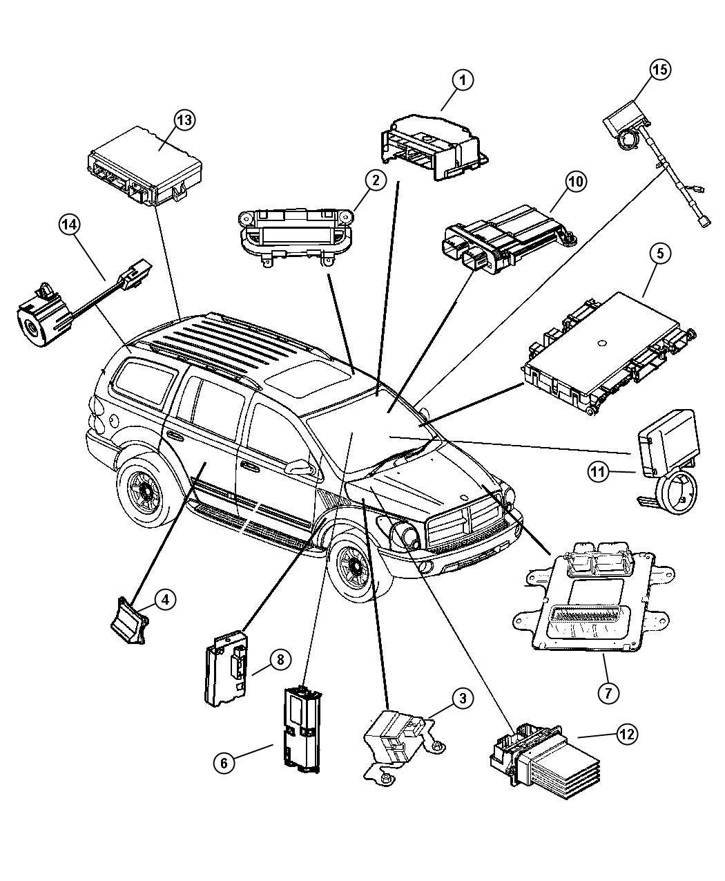 Dodge Durango Module Telematics