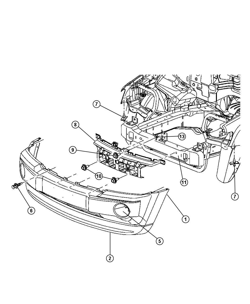 2014 Jeep Grand Cherokee SUMMIT 3.6L V6 4X4 Retainer. 1/4