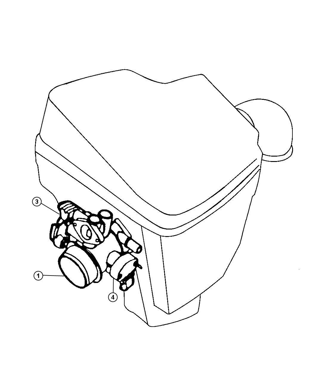 Dodge Sensor Kit Throttle Position