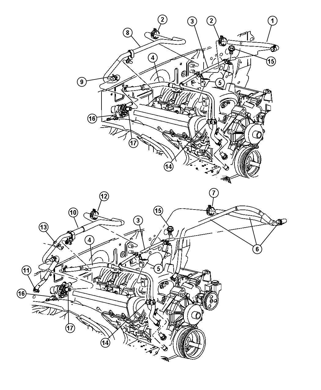 Dodge Durango Pump Auxiliary Coolant