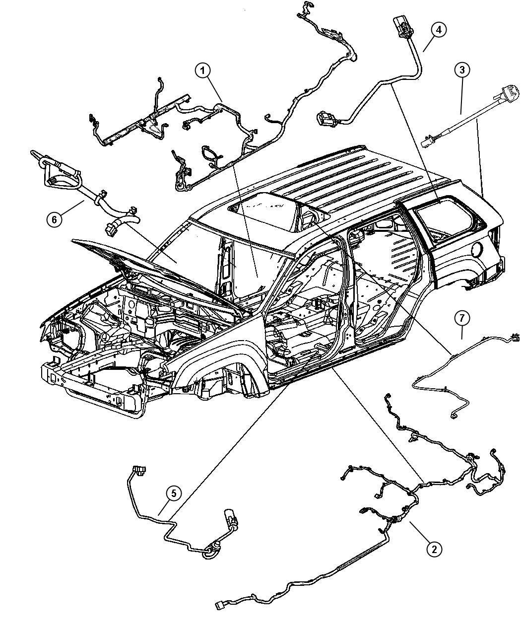 Jeep Commander Wiring Control Module Transmission
