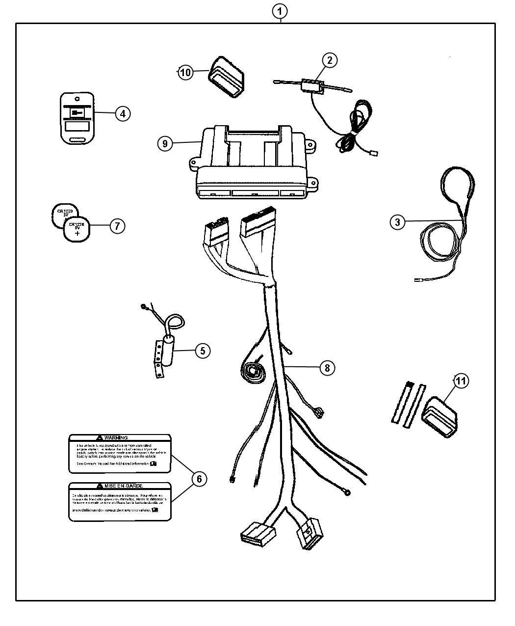 Dodge Durango Harness Wiring