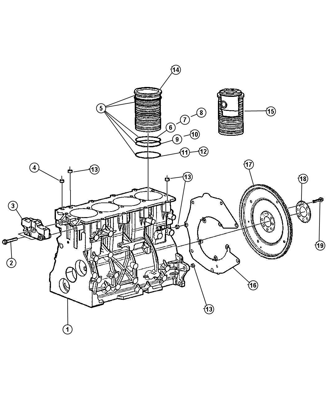 Chrysler Pacifica Screw. Nonregulated, alternatorall
