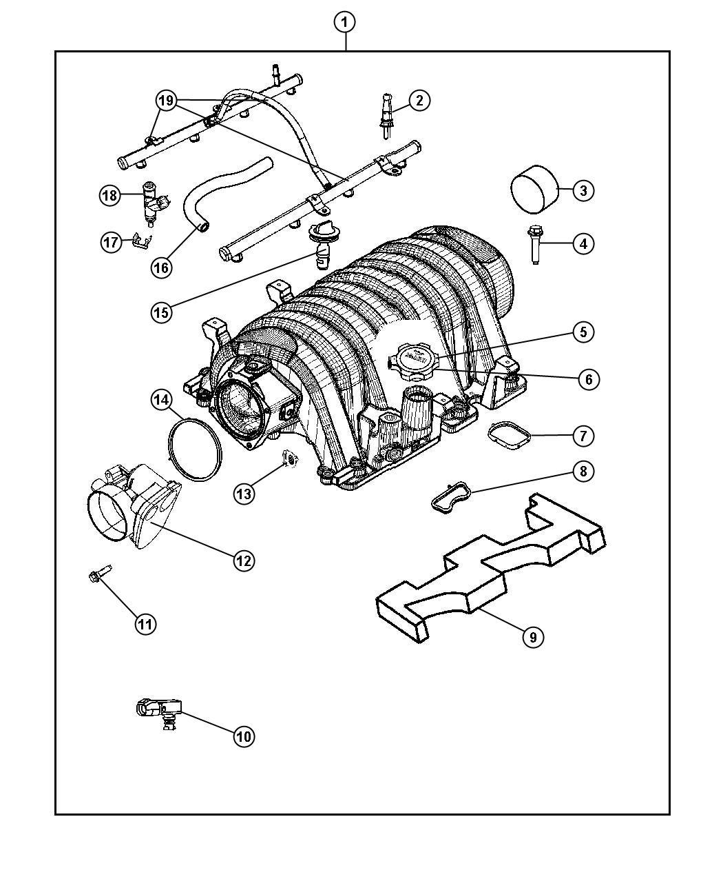 Dodge Charger Manifold Intake
