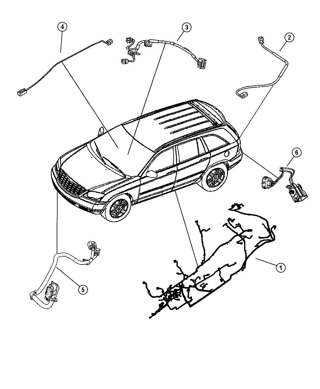 Chrysler Pacifica Wiring. Unified body. [supp. Side