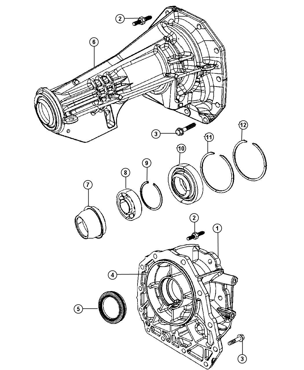 Dodge Ram Adapter Transfer Case Adapters Stowable