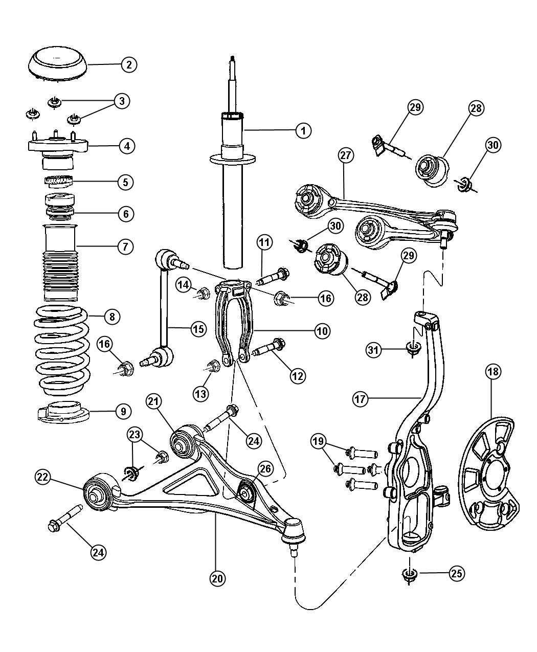 Under Hood Diagram Of 2007 Chrysler Sebring, Under, Free