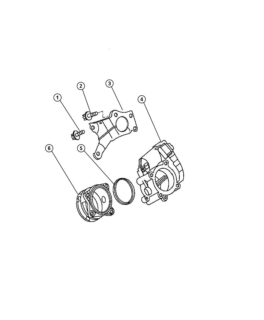 Dodge Sprinter Flange Intake Throttle
