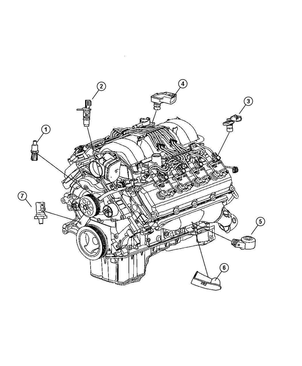 Dodge Durango Sensor Crankshaft Position Up To 04