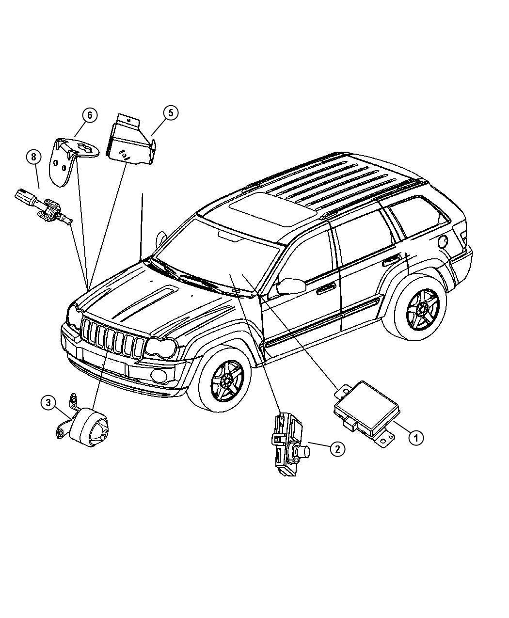 2013 Dodge Grand Caravan SE 3.6L V6 Transmitter. Anti