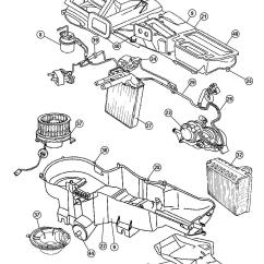 2004 Jeep Liberty Parts Diagram Of Sides Catenary Arch Blower Motor W Wheel Wrangler 2007