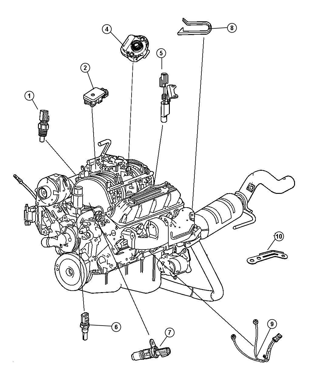 2001 Chrysler Concorde Engine Diagram / 2000 Chrysler 300m