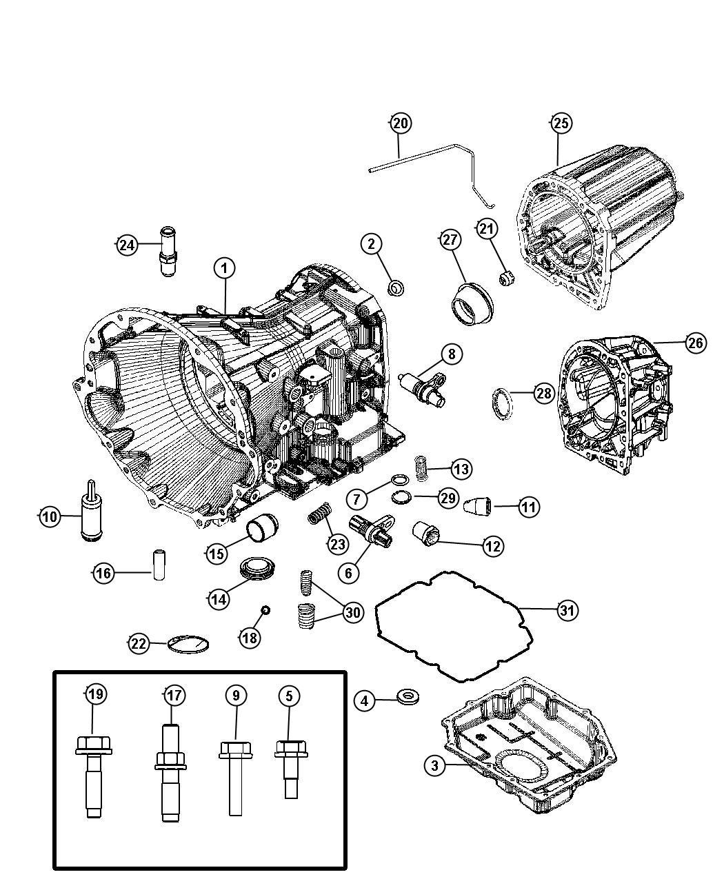 2006 Dodge Magnum R/T 5.7L Hemi V8 Fitting, fitting kit