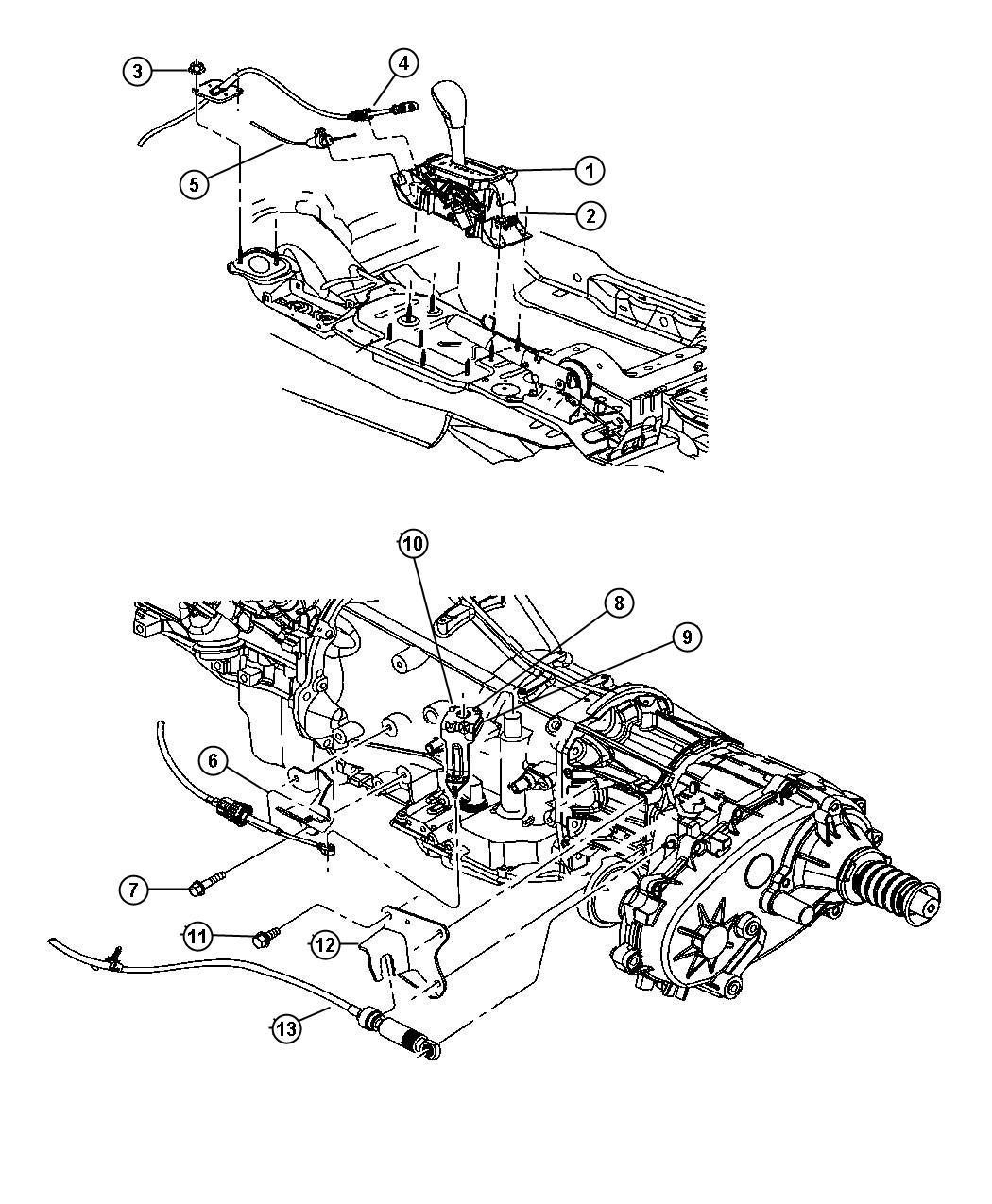 Jeep Liberty Shifter. Transfer case. Systemman