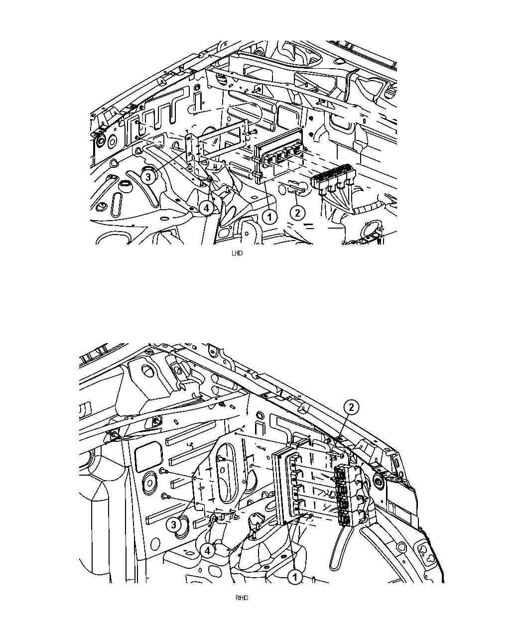 Jeep Grand Cherokee Module. Powertrain control. Generic