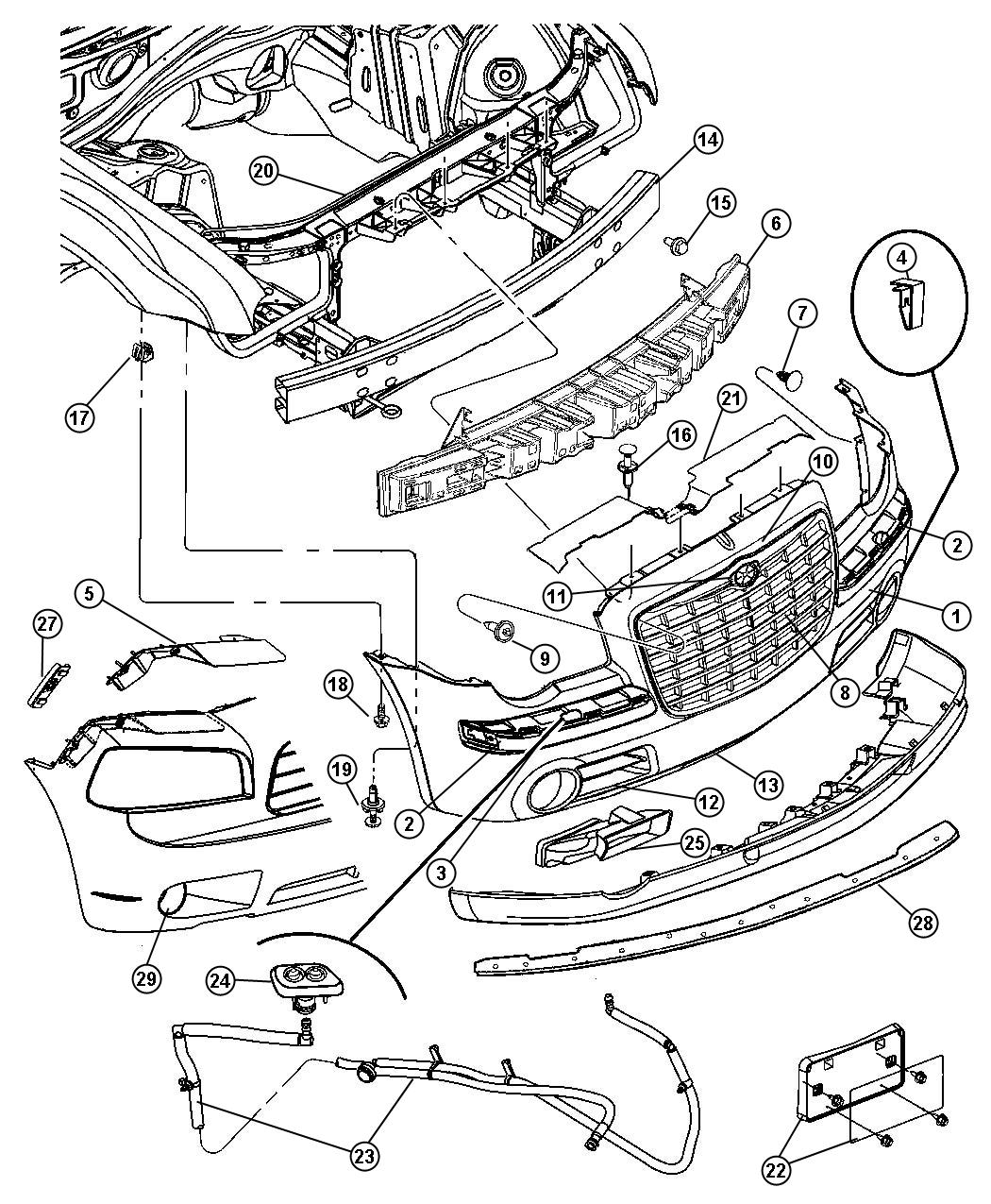 [Exploded View 2002 Chrysler Town Country Manual