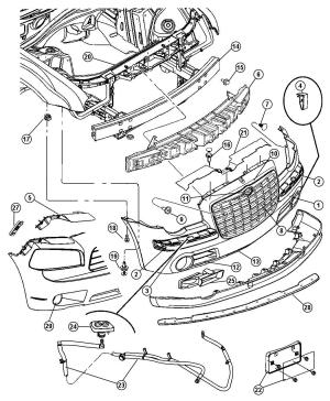 Chrysler Town And Country Parts Diagram | Car Interior Design