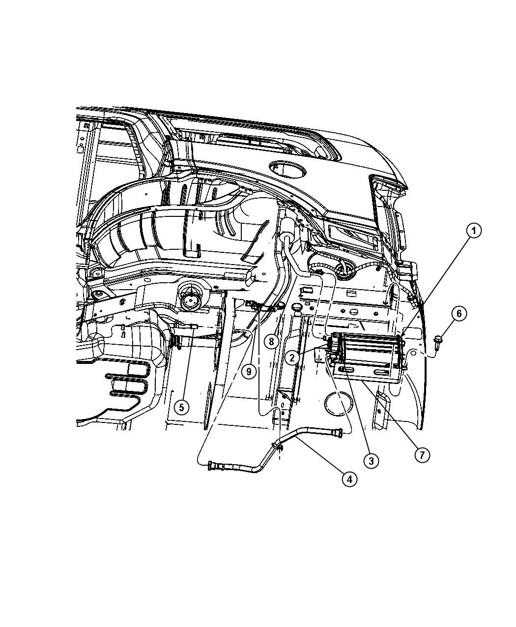 Jeep Grand Cherokee Detector Evaporative System