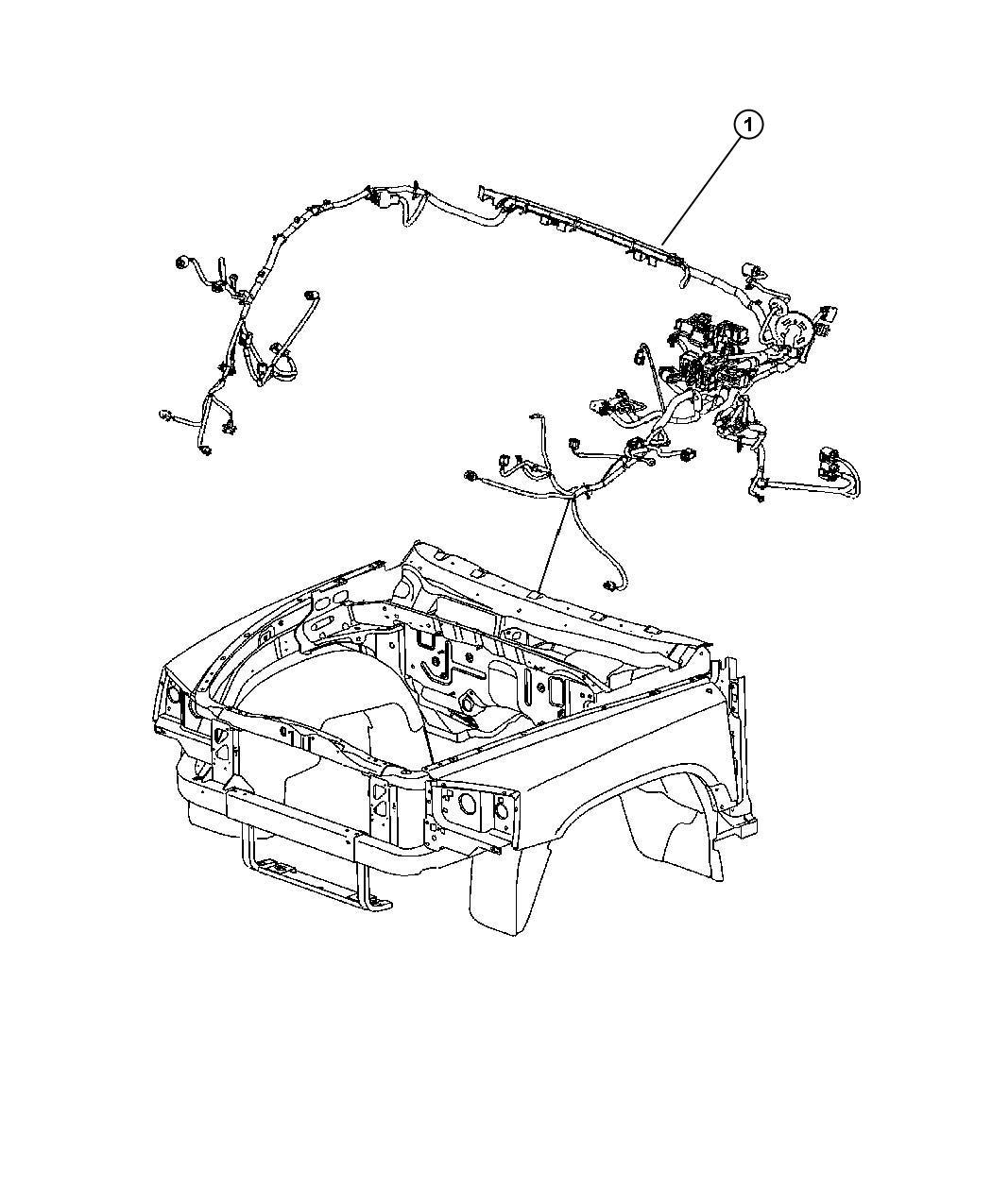 Dodge Dakota Wiring. Headlamp to dash. [[pwr disc/drum rr