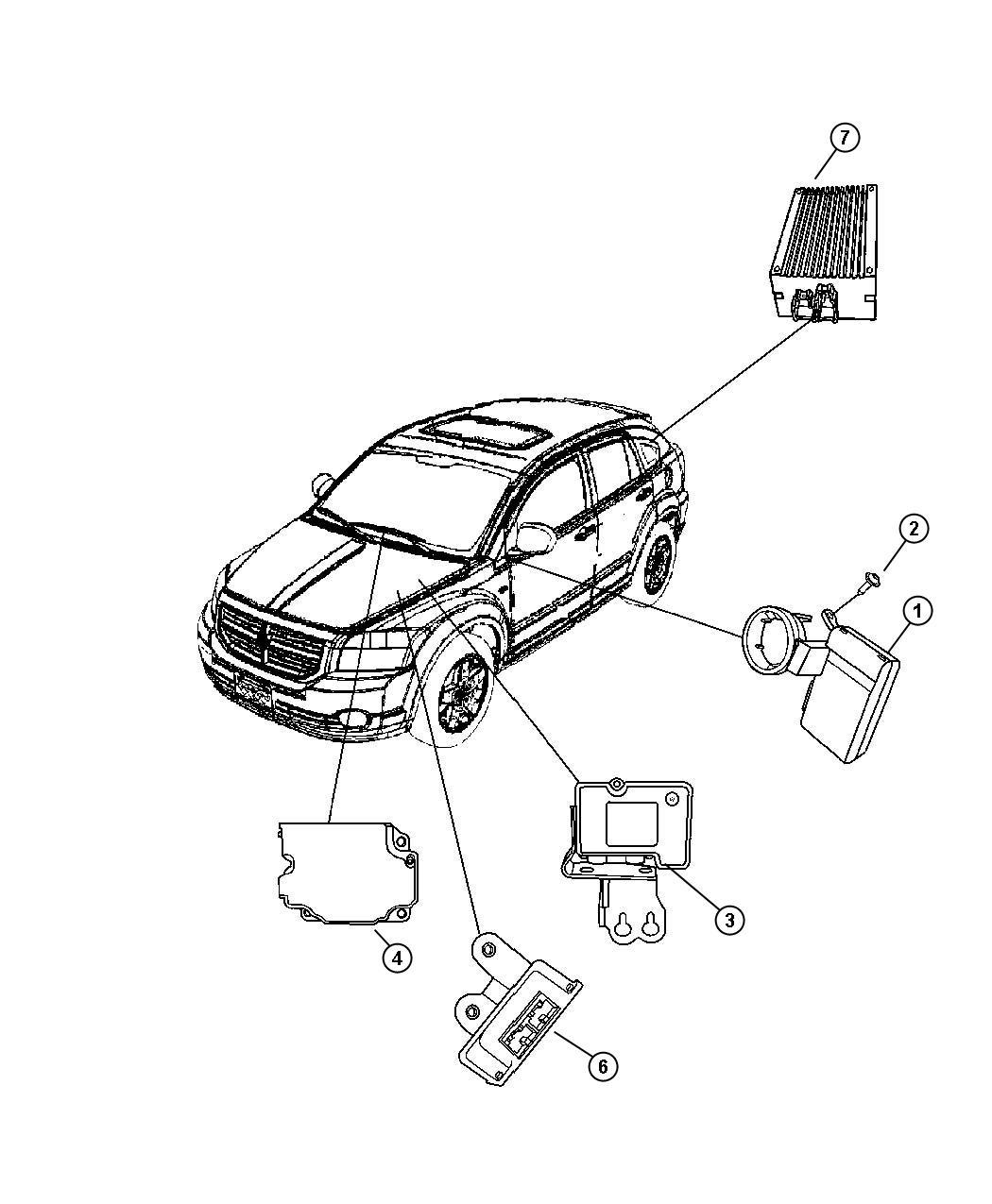 2010 Jeep Patriot Module. Transmission control. [cont.var