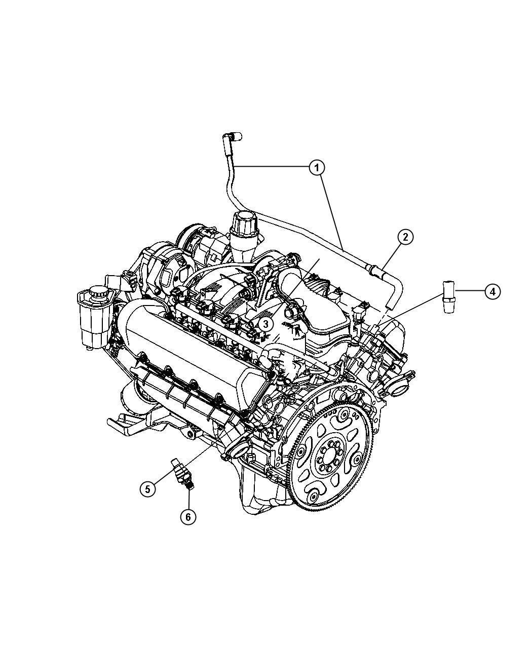 Chrysler Crankcase Ventilation 4 7l 4 7l V8 Mpi Engine