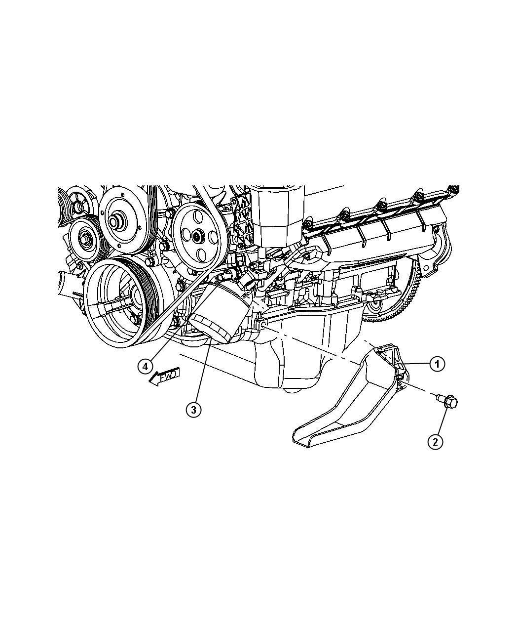 Dodge Ram 1500 Sending unit, switch. Oil pressure. After