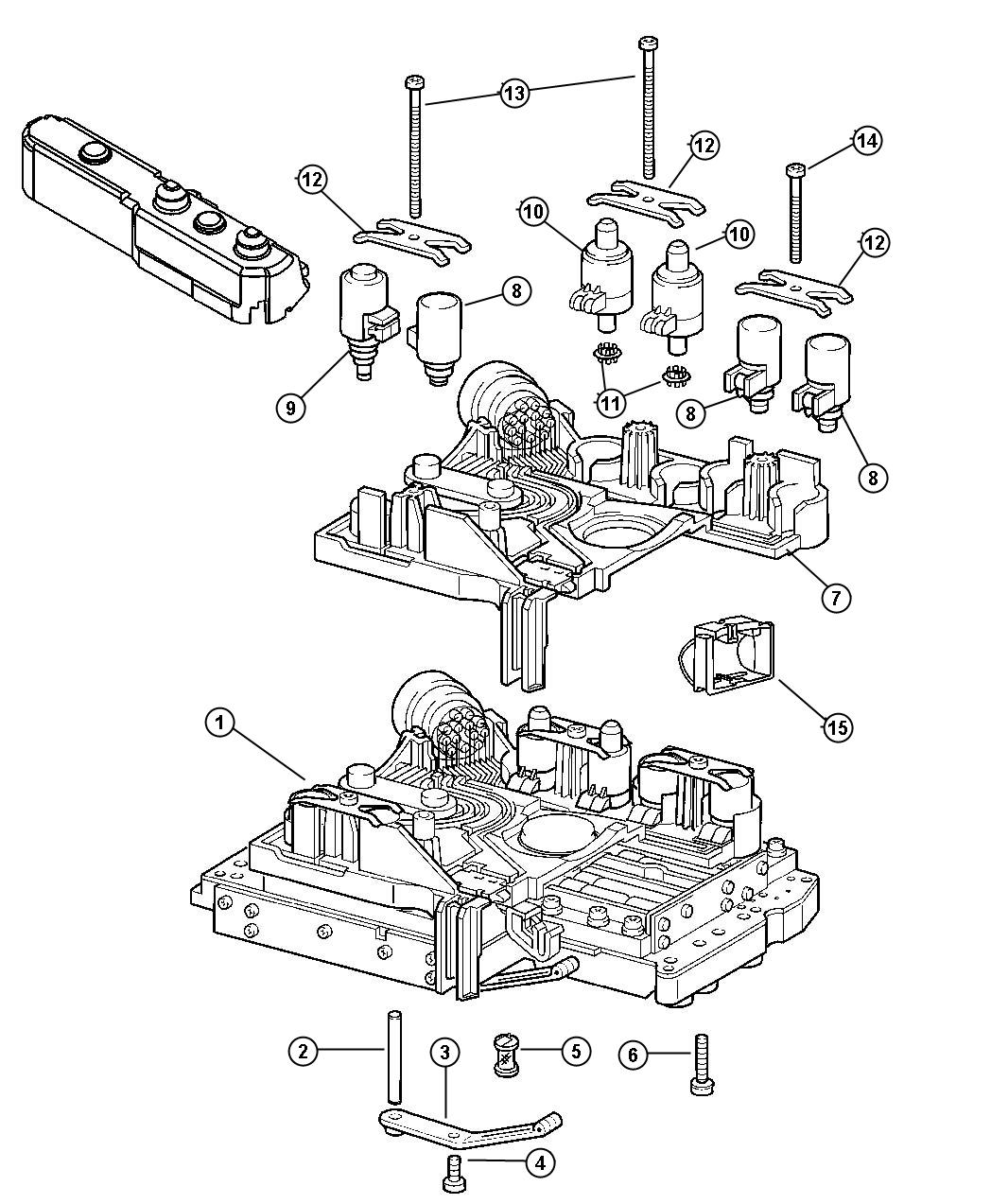Dodge Charger Connector, connector assembly. Electrical