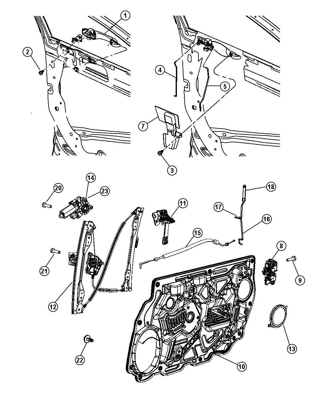 Chrysler Sebring Clip Repairs