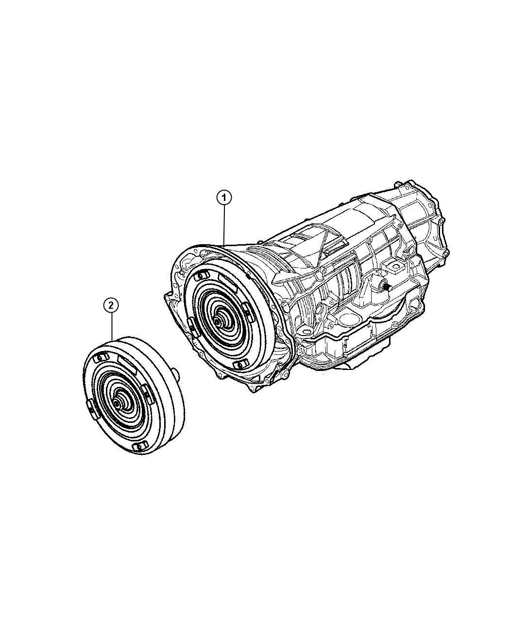 Dodge Dakota Transmission package. With torque converter